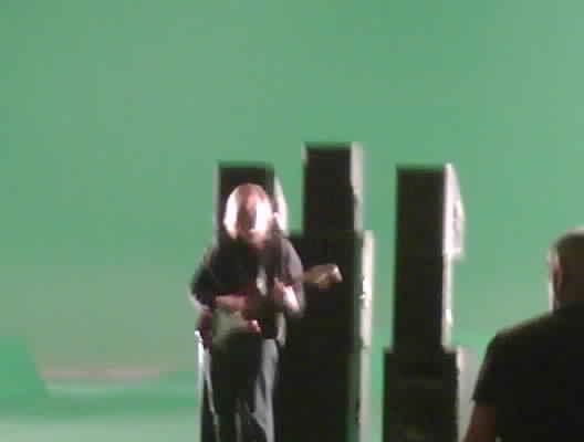 Green Screen Rock out