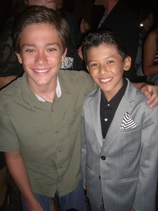 christian traeumer and Luke the lead who plays Antonio