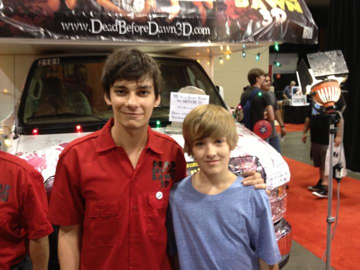 Devon Bostick and I at Fan Expo