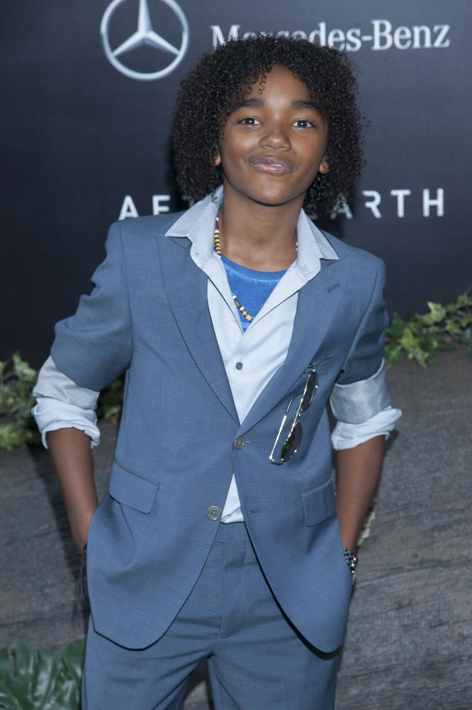 "Jaden Martin at ""After Earth"" New York City Premiere"